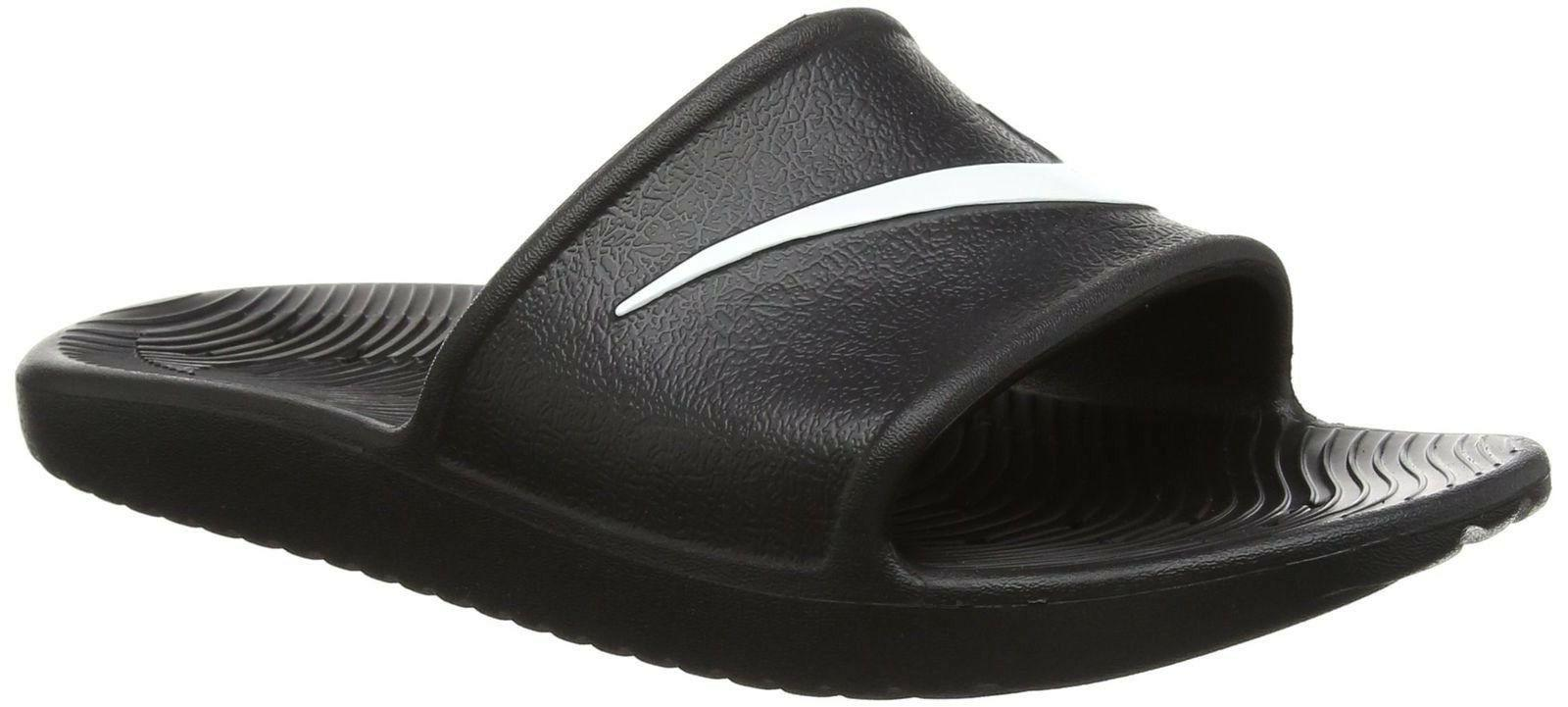 Men's Nike Kawa Slides Flip Flops Sandals Pool Slippers Beac