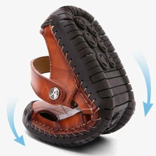 Sandals Summer Leather Shoes Beach