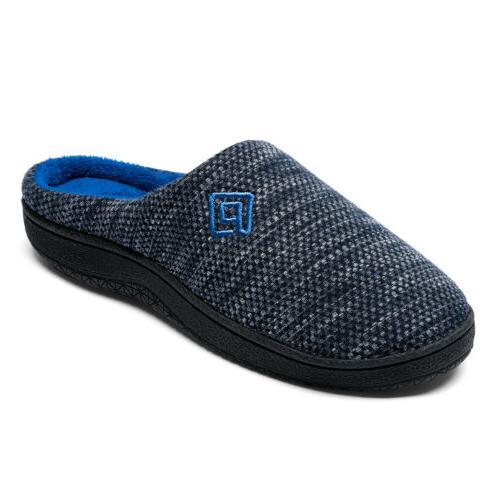 men s memory foam comfortable slippers plush