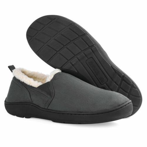 Men's Memory Foam Wool-Like Home Shoes