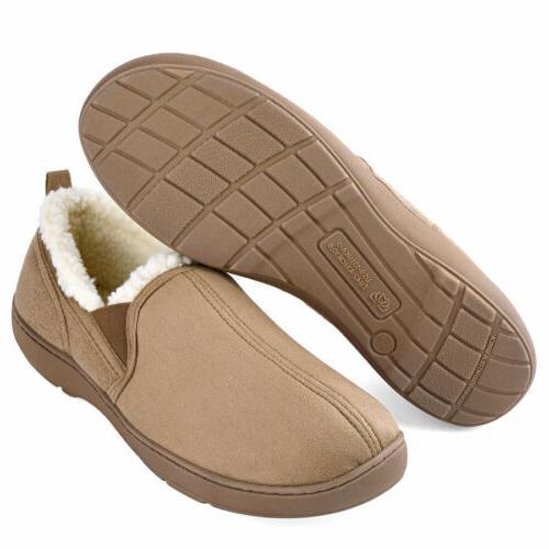 Men's Memory Foam Wool-Like Shoes Anti-Skid