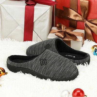 Men's Foam Comfort Knitted Indoor/Outdoor Shoes