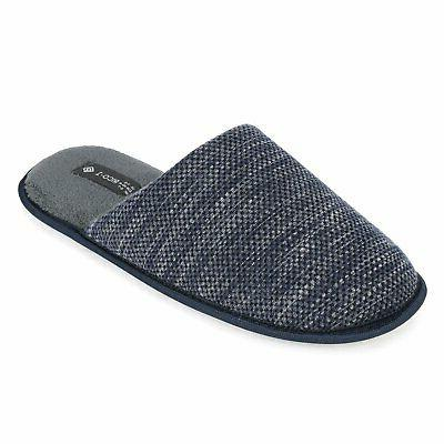 Men's Knitted Anti-slip On House Shoes