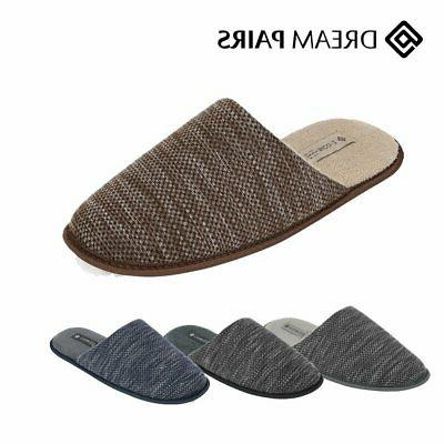 men s memory foam slippers knitted anti
