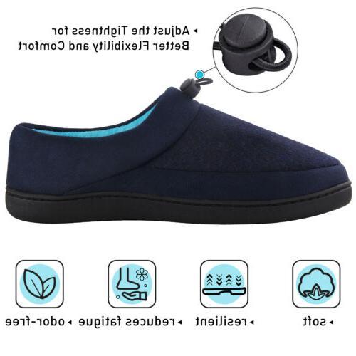 VONMAY Men's Comfort Foam Outdoor House Shoes