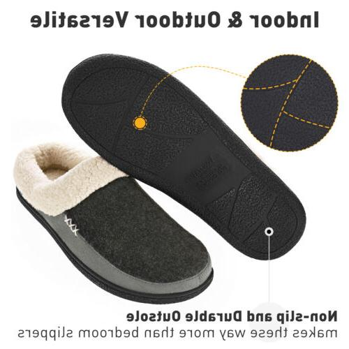 VONMAY Comfort Slippers Lining Slip on Shoes