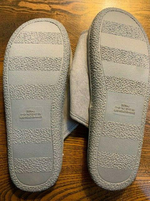 Men's Slippers Open Toe SOFT Shoes Sole 11-12