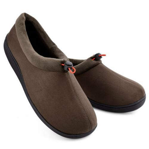 Men's Slippers House Breathable Memory Foam Moccasin