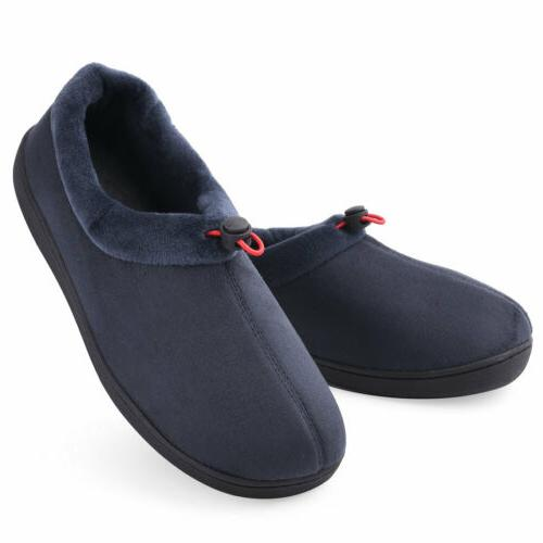 Men's Slippers House Breathable Memory Moccasin
