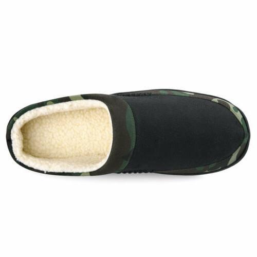 Men's Fleece Slip-on Shoes Camouflage
