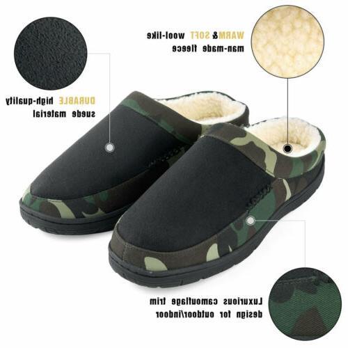 Men's Memory Fleece Slip-on Camouflage