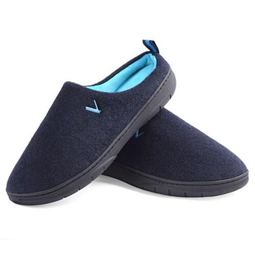 Men's Two Tone Foam Breathable Slippers House