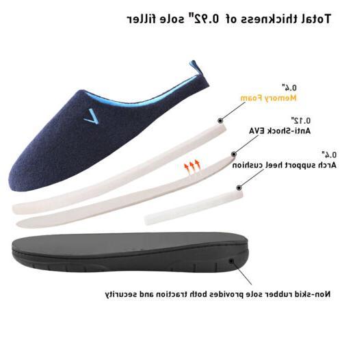 Men's Foam Breathable House Shoes