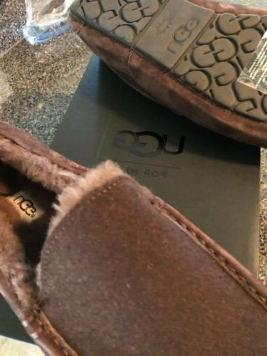 UGG Mens Moccasin Slippers Size 12 BRAND WITH