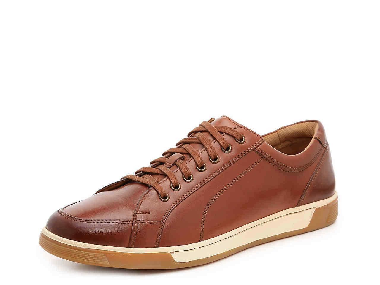 mens berkley sneaker cognac size 10 shoe
