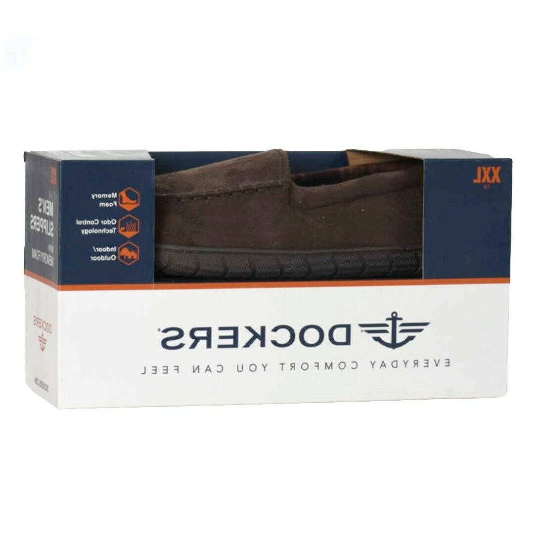Mens Brown Slippers Size
