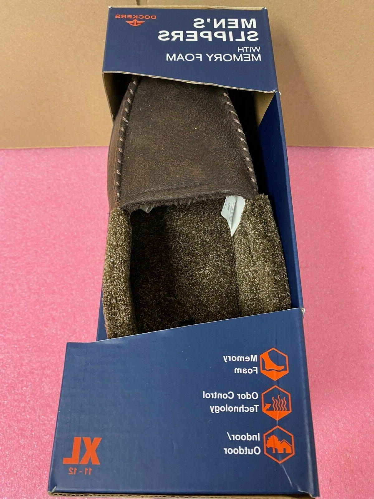 Men's Dockers Slippers With XL