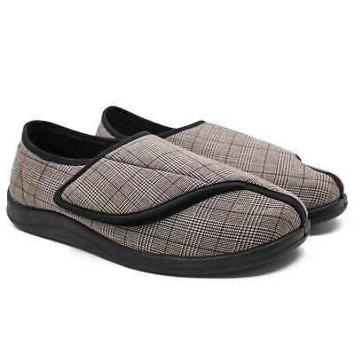 Mens Extra Wide Width Diabetic Slippers