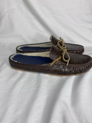 Cole Haan On Brown Croc Size