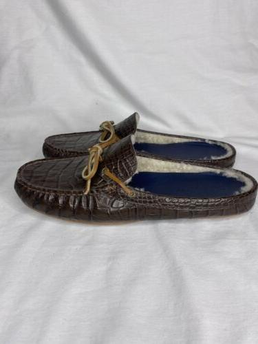 Cole Haan Men's On Slippers House Shoes Brown Size 10