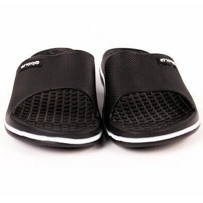 Mens Sport Slide Sandals Shower Shoes Pool Gym