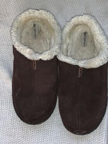 mens suede slippers size 10 ym1405 248