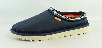mens tasman navy mule slippers size 14
