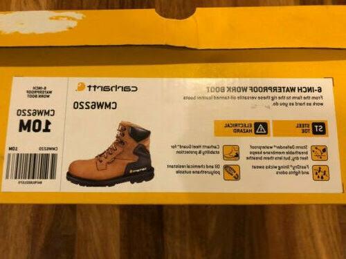 "NEW Boot Men's 6"" Toe Size 10"