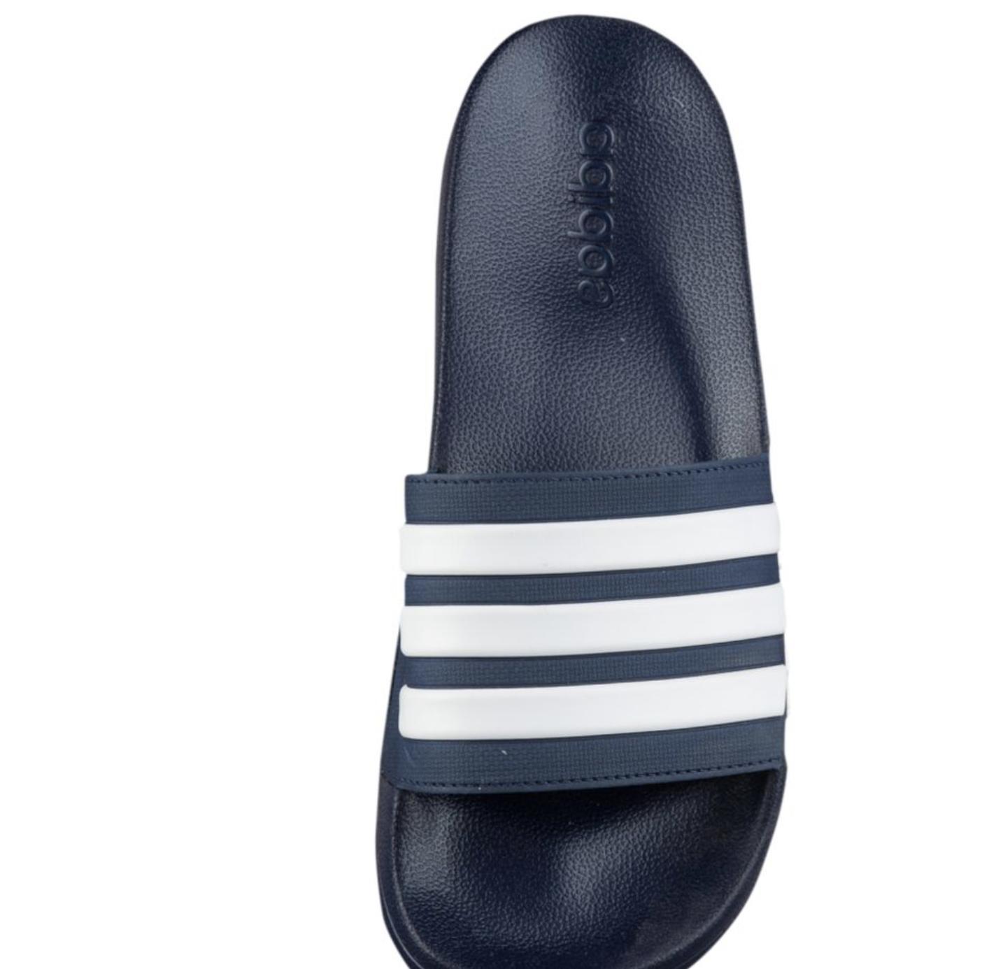New adidas CloudFoam Blue Sport Slippers