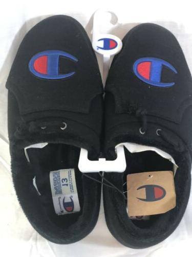 new men s university slippers black slip