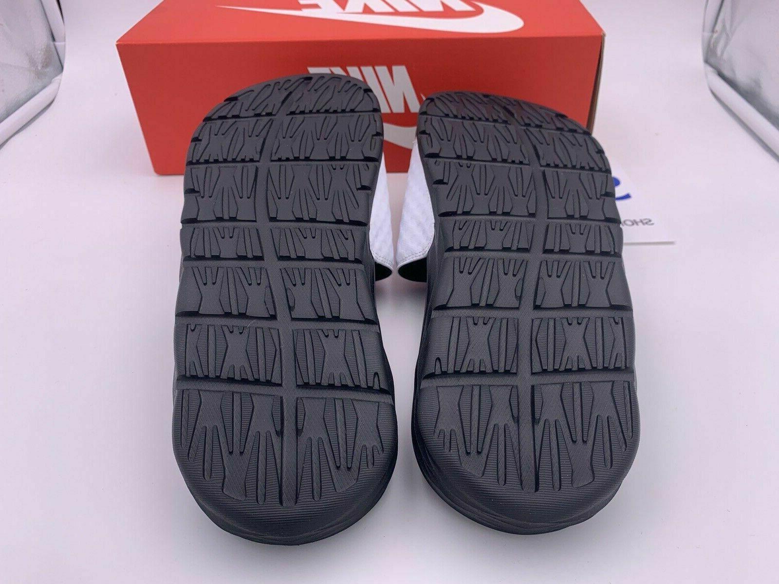 Nike Benassi Solarsoft Black Logo Slides Slippers