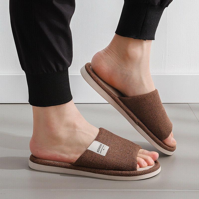 New Women Slippers Open Toe Flat Shoes