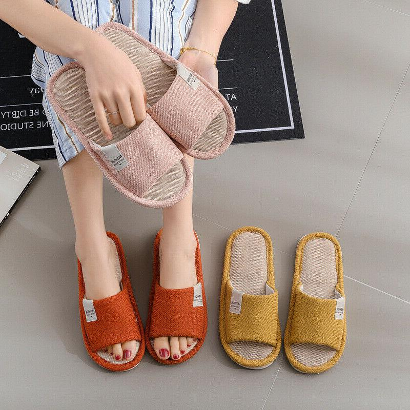 New Women Slippers Toe Flat Slippers Shoes