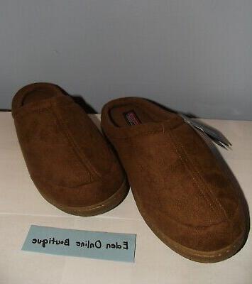 nwt men s memory foam slippers size