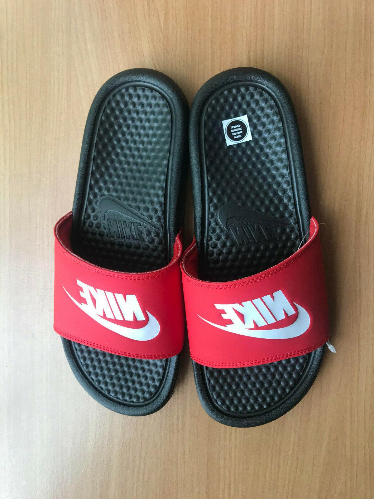 NWT Mens Slide Sandals Slippers Fast Shipping