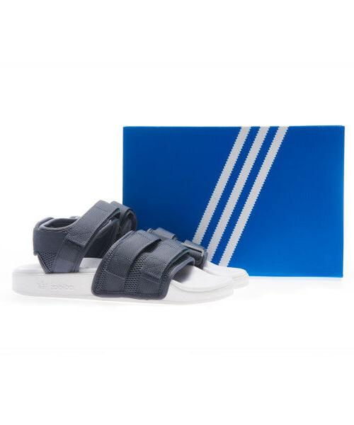 Adidas Original Sandal 2.0 Slippers Black Yellow Green Size 4-13
