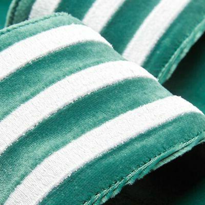 adidas Adilette Mens Flip Shoes Green Velvet