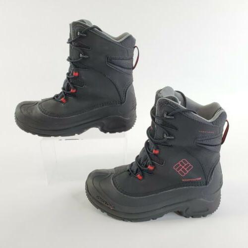 snow boots 200 grams size 6 black