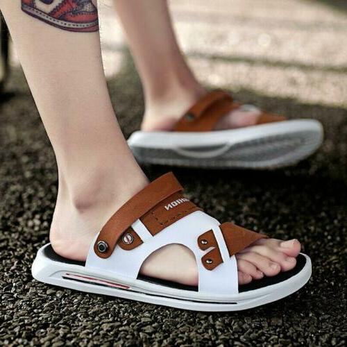 Summer Fashion Mens Boys Slingbacks Beach Sandals Open