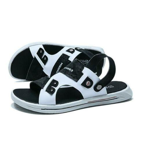 Summer Mens Slingbacks Beach Shoes Open Slippers