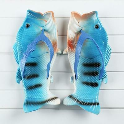 Summer Runwar Shoes Fish Slippers Flip Beach Men Li