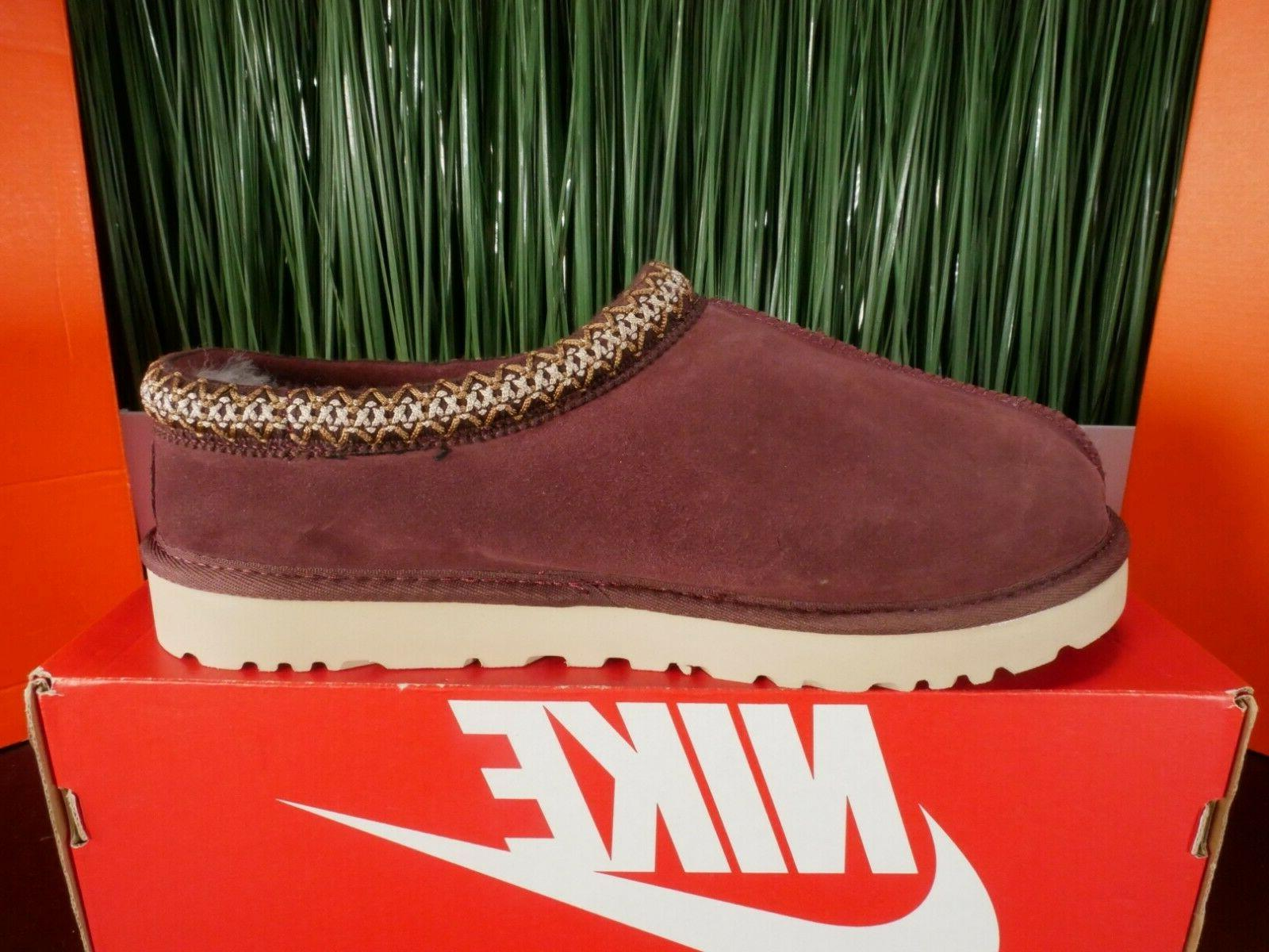 UGG Burgundy Maroon Red Mens Slippers Size
