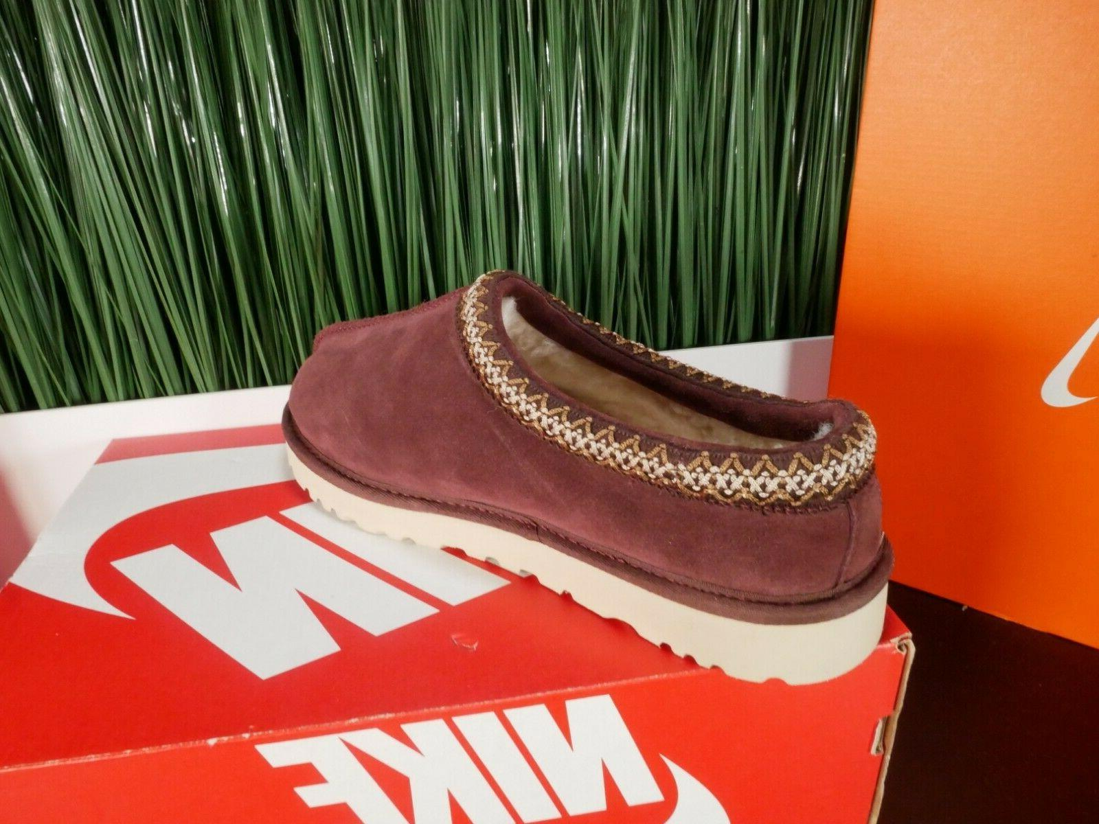 UGG Tasman Red Mens Slippers 5950 Size