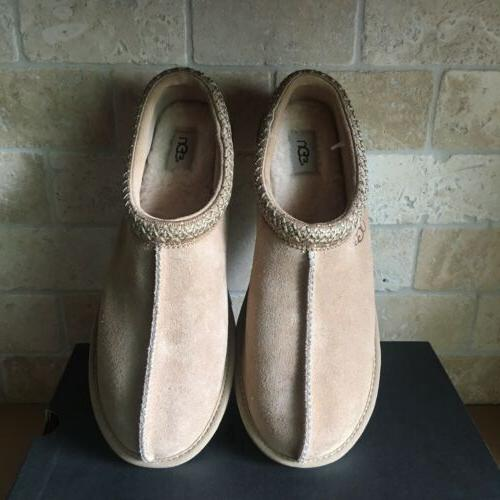 UGG TASMAN PINNACLE STEAD SUEDE SLIPPERS US 12