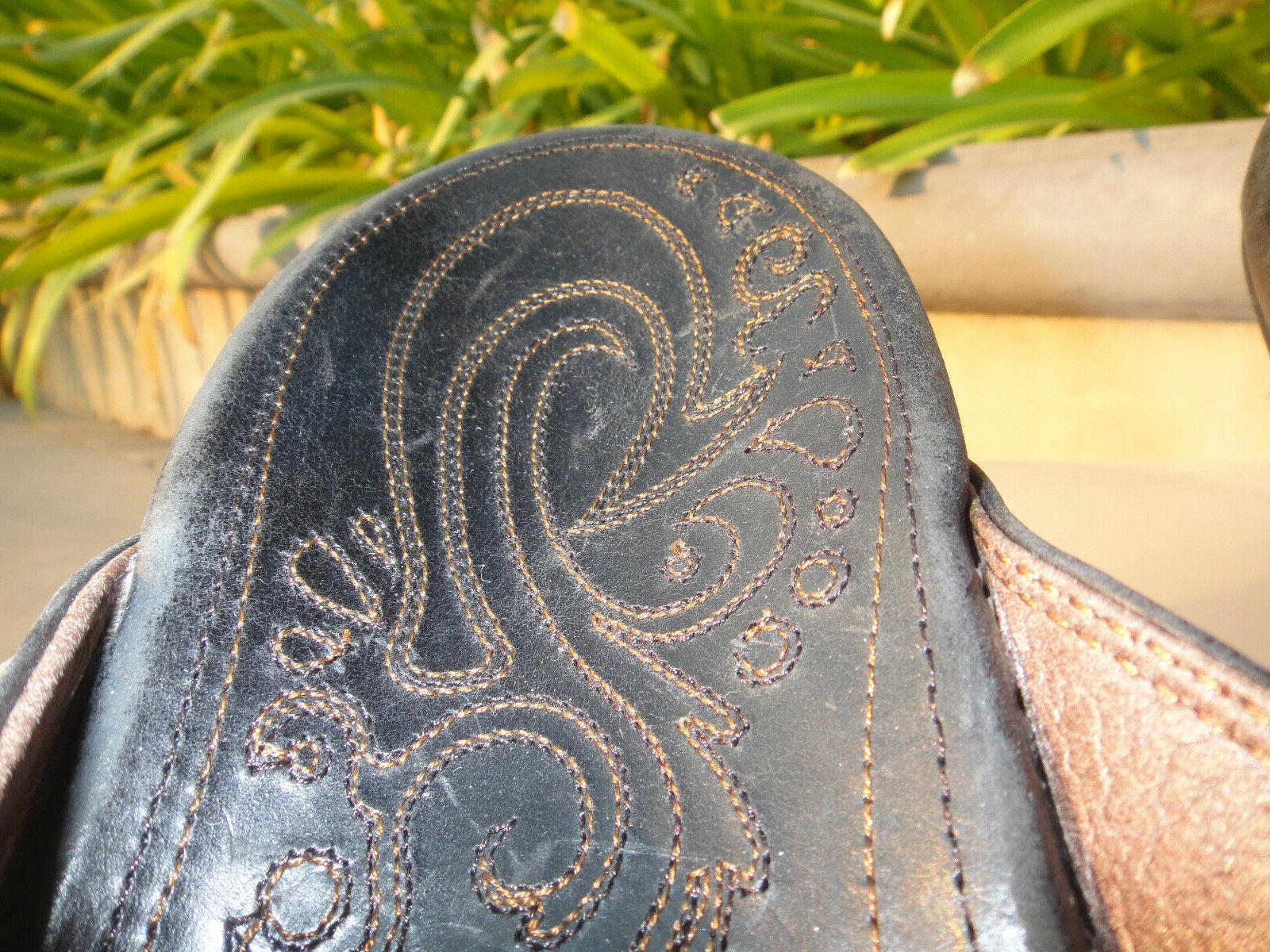 OluKai WAIMEA Leather Stitched 10M 10317-4040