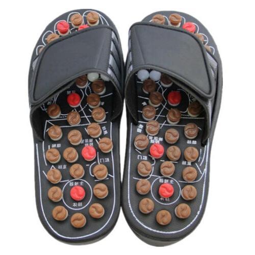 Women Men Slipper Reflex Foot Shoes