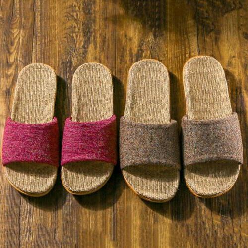 Flax Tatami Slippers Women