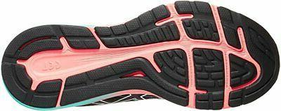 Running Shoes, Black/ICE Mint, 10 B