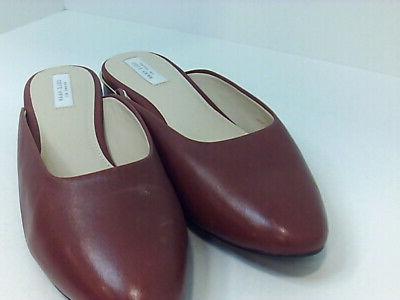 Cole Slide Sandal Leather Brown 7.5, 7.5 VG