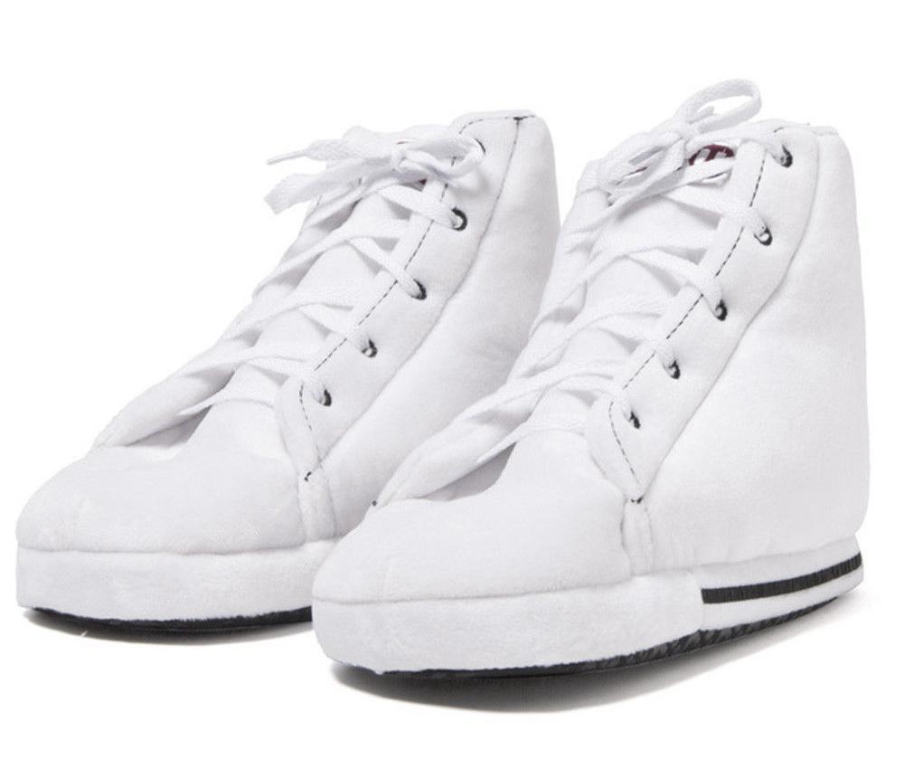 yeezy classic sneaker slippers plush unisex white